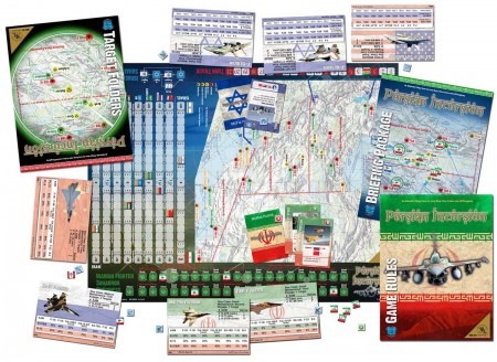 PI Game Map Display 1 450x328 How to bomb Iran: game it out first