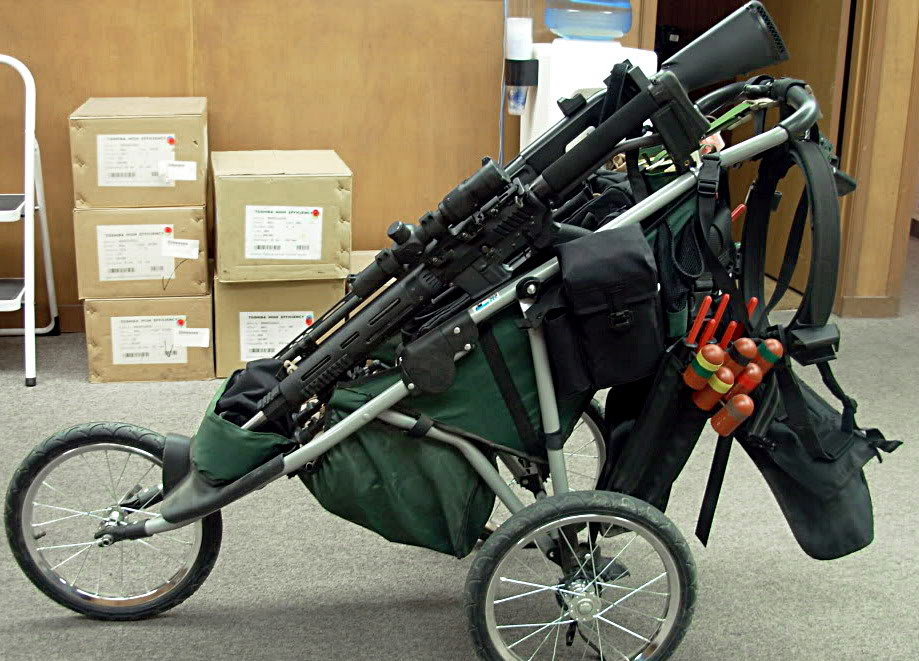 Tactical Baby Stroller Rifle 3 Tactical strollers!