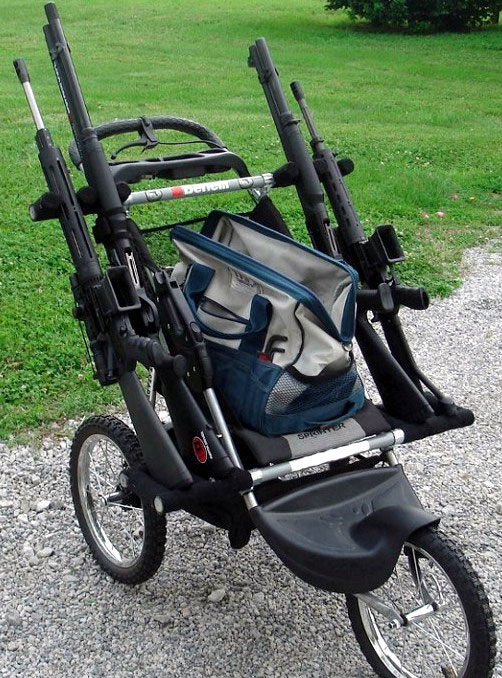 Tactical Baby Stroller Rifle 5 Tactical strollers!