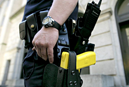 teen dies after police use taser on him The increasing risk of less than lethal weapons