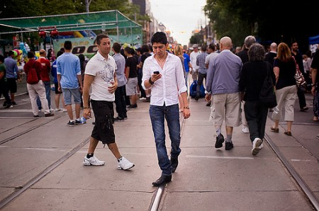 5867446515 d308988489 450x298 Texting on the zebra crossings