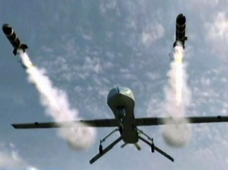 Drone Firing 450x337 America's drone sickness