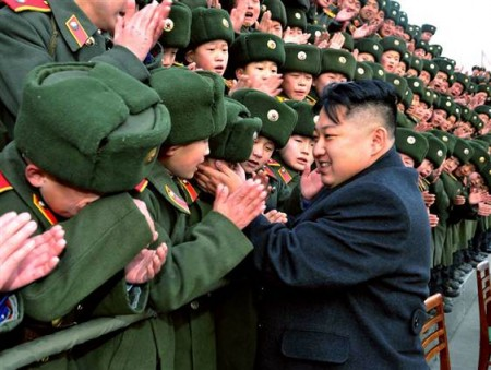 120130 kim jong un hands 620a 450x339 North Korea executes three people found guilty of cannibalism