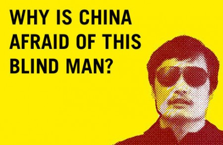 Chen Guangcheng 450x293 Chinese activist who fled house arrest lands in US
