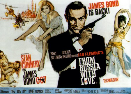 From Russia with Love 450x325 James Bond is bulletproof
