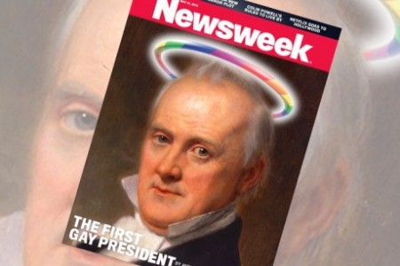 James Buchanan 450x300 Our real first gay president