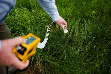 Soil testing 450x300 Sick From Fracking? Doctors, Patients Seek Answers