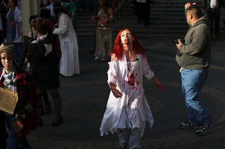 4048142375 fb06d62f5d 450x299 CDC: Zombies arent real