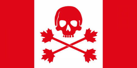canada pirate 450x225 Canadian SOPA: Bill C 11 passes Commons, allowing for U.S. style copyright law