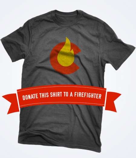 donate a shirt 450x523 Wildfire Tees