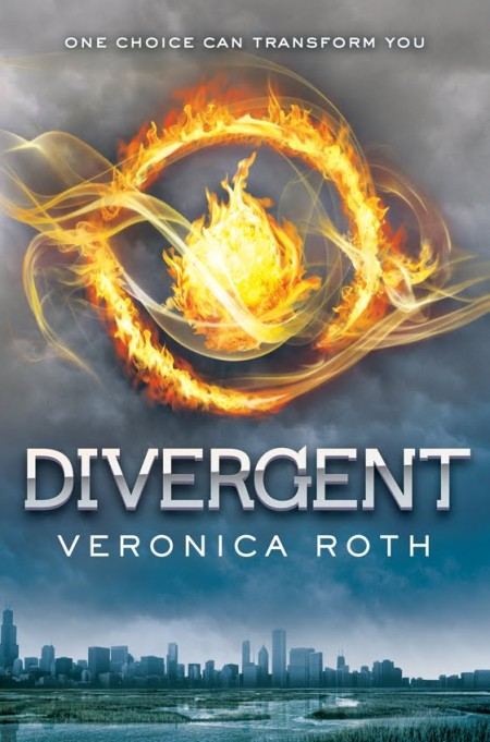 Divergent hc c2 450x681 Review: Divergent by Veronica Roth