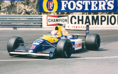 Mansell monaco 91 450x285 Brilliant guy, rubbish CV