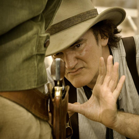 django unchained quentin tarantino movie image set photo 450x450 Tarantino: 'Disrespectful' to link violence to movies
