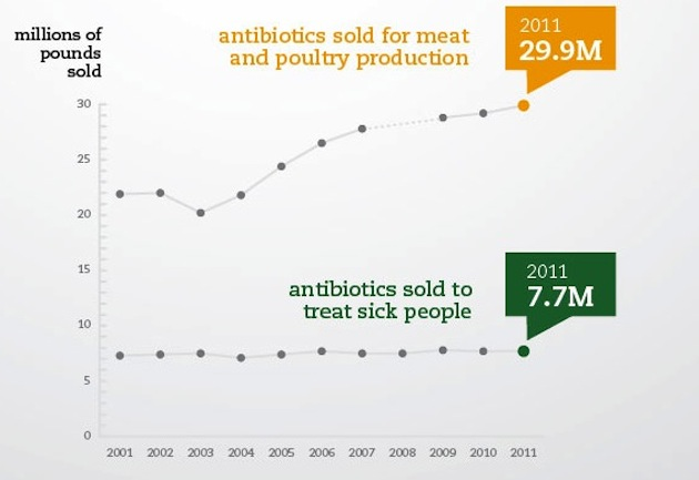 abx sales infographic 2 The Meat Industry Now Consumes Four Fifths of All Antibiotics
