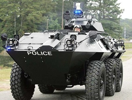 militarized police puppetgov 450x340 ACLU Launches Nationwide Police Militarization Investigation
